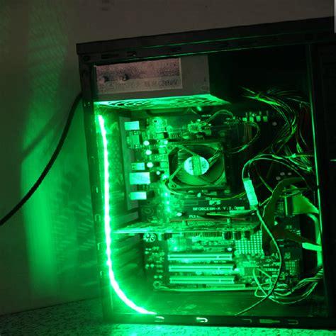 computer led light strips 40cm 5050smd led pc computer case strip light self