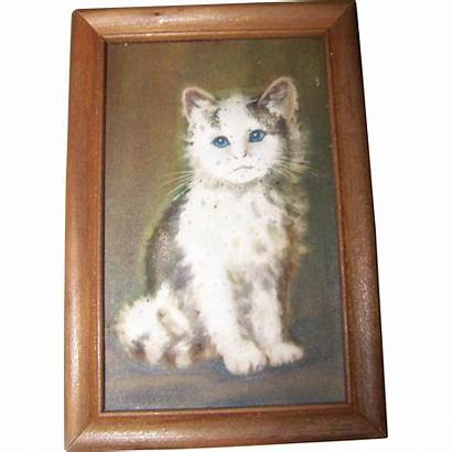 Cat Wall Framed Kitty Dimensional Treasures Sculpto