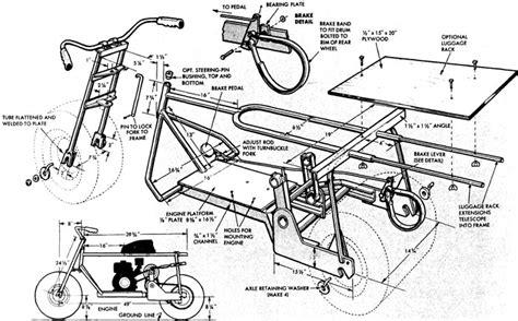 Mini Chopper Frame Blueprints Pinterest