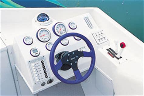 Gaffrig Boat Steering Wheel by Pantera 28 Sport Single Performance Test Boats