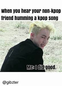 When You Hear Your Non-Kpop Friend Humming a Kpop Song Meg ...