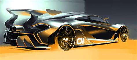 Mclaren F1 Designer by Mclaren P1 Gtr Design Concept To Be Unveiled At Pebble