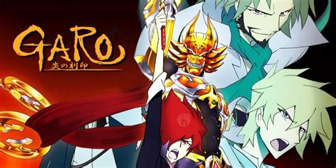 Garo Anime Wallpaper - garo honoo no kokuin review characters i am the golden
