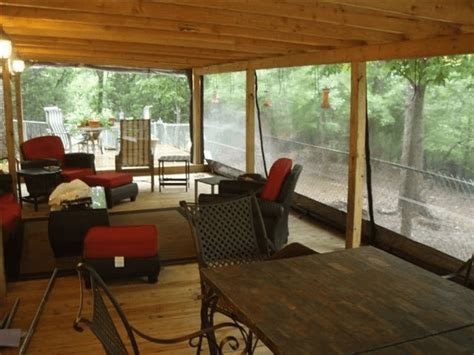 screen porch weather curtains types and consideration