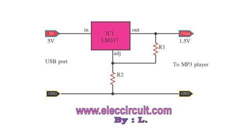 circuito de substitui 231 227 o da bateria 1 5volts usando lm317 eletronica electronics house