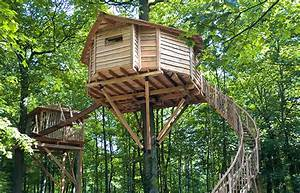 Comment Faire Une Cabane Dans Les Arbres : les cabanes des grands ch nes glamping cabane dans les arbres ~ Melissatoandfro.com Idées de Décoration