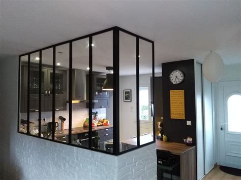 cuisine verriere cuisine avec verriere interieure maison design bahbe com