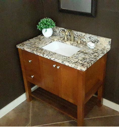 37 quot x 22 quot thunder granite vanity top 1 rectangle