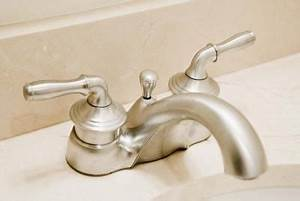 how to clean the scum from around a faucet With how to clean bathroom faucets