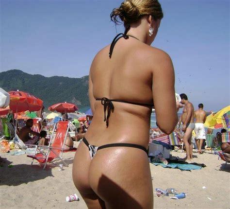 brazilian milf with big oily ass 🍑 daily thongs