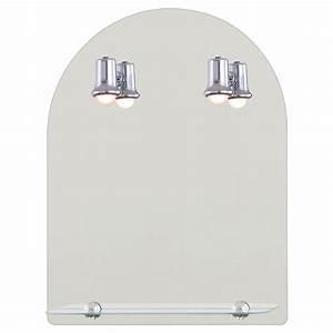 Miroir Salle De Bain Lumineux : miroir lumineux miroir de salle de bain meuble de ~ Melissatoandfro.com Idées de Décoration