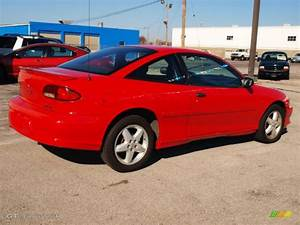 1998 Flame Red Chevrolet Cavalier Z24 Coupe  73680696
