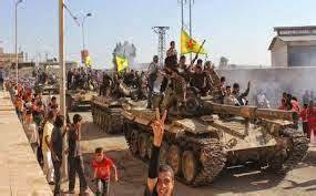Fierce clashes between YPG and IS continue on 5 fronts in ...