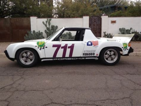 porsche 914 race cars buy used porsche 914 4 2 0 race car in tucson arizona