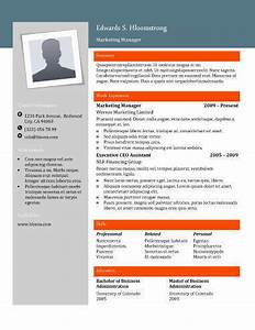 Cv Templates For It Professionals 22 Contemporary Resume Templates Free Download