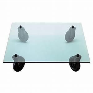 Table Basse 100x100 : table basse con ruote 100x100 fontana arte d couvrez mobiliers miroirs jeancel luminaires ~ Teatrodelosmanantiales.com Idées de Décoration
