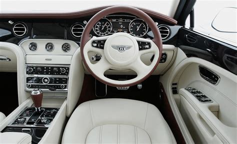 bentley mulsanne interior image car and driver