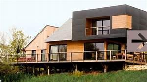 Bardage Façade Maison : le bardage une seconde peau pour la maison c t maison ~ Nature-et-papiers.com Idées de Décoration