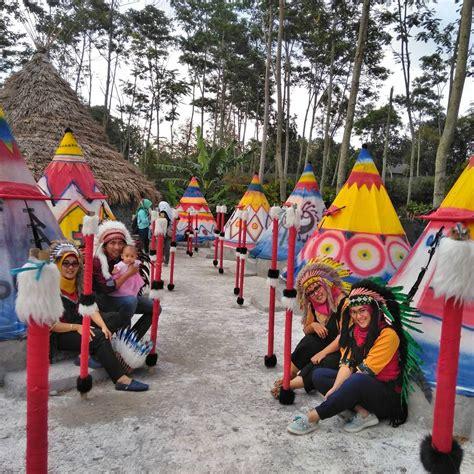 jelajah kampung indian  indonesia seru banget