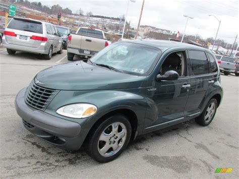 Shale Green Metallic 2001 Chrysler Pt Cruiser Limited