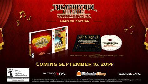 Theatrhythm Curtain Call Cia by Theatrhythm Curtain Call Release Date Set