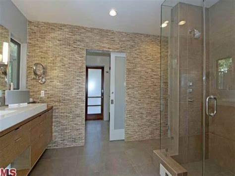 glass tile ideas for small bathrooms bloombety beautiful tile bathroom with glass wall the