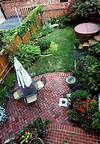 20 Charming Brick Patio Designs small patio ideas