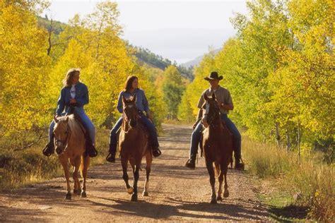 riding utah horseback park ski greatamericancountry resorts