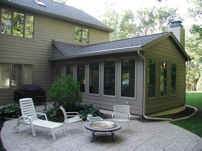 sunroom attached to house sunroom addition with patio not sure if i d rather