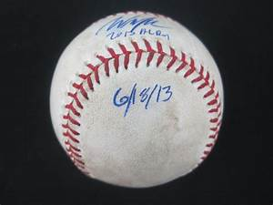 Lot Detail - Will Myers Game Used & Autographed 1st Major ...