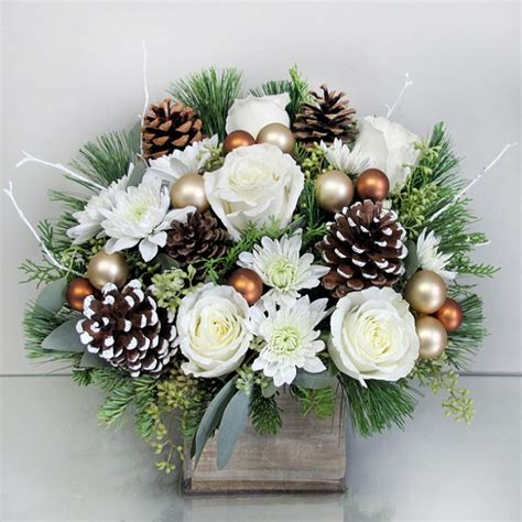 white christmas bouquet voted