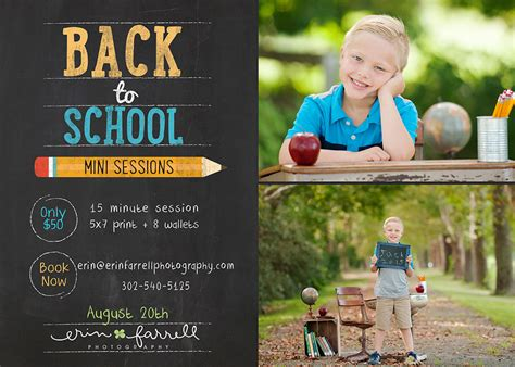 Back To School Mini Sessions! » Erin Farrell Photography