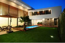 Modern House Beautiful Terrace And Landscape Modern Home Design