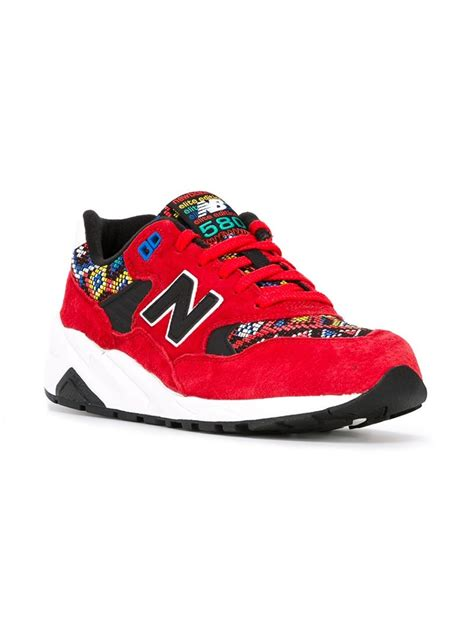 New Balance '580 Elite Edition' Sneakers In Red Lyst