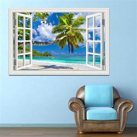 wall stickers home decor wall stickers home decor summer coconut tree picture