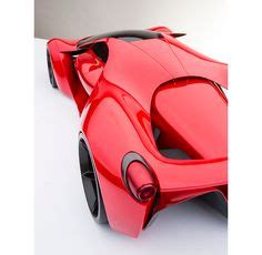 """A nice feature is the extra wide deck to stand on. """"Ferrari F80 Concept • 1200 HP TT V8 Hybrid • Photo by # ..."""