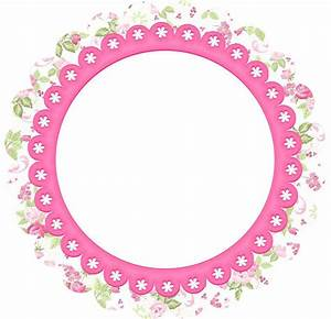 Flowers: Free Printable Frames, Toppers or Labels Oh My Fiesta! in english