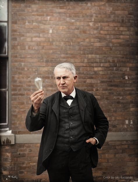 On Thomas A Edison, An American Contribution To World