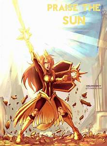 Leona Praise The Sun By Despreocupabloart On DeviantArt