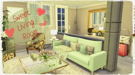 Sims 4   Sweet Living Room   Dinha