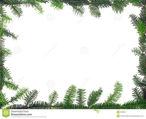 Weihnachtsrahmen Stock Abbildung Bild Von Getrennt, Tanne