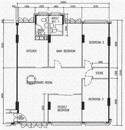 Ris Pasir Street Hdb Plan Floor Blk