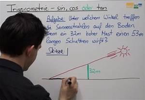 Sin Cos Tan Winkel Berechnen : trigonometrie sin cos oder tan mathe nachhilfe 2 0 mathehilfe24 ~ Themetempest.com Abrechnung