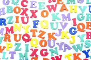 Colourful Letters Alphabet