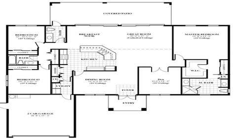 single house plans floor home house plans 5 bedroom home floor plans single