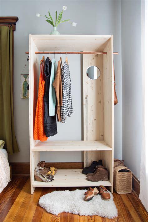 Modern Wooden Wardrobe DIY   A Beautiful Mess