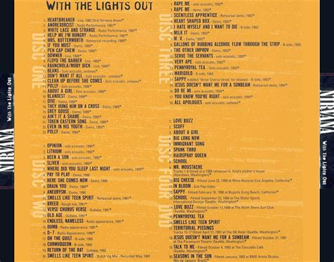 with the lights out car 225 tula trasera de nirvana with the lights out portada