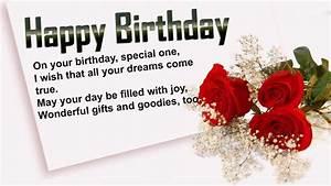 Wishing Happy Birthday Greetings HD Wallpaper ...