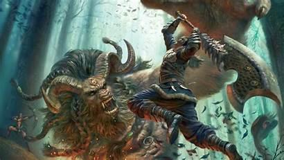 Beast Wallpapers Warrior Epic Fighting Fantasy Wallpapersafari
