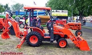 Tractordata Com Kubota B26 Backhoe